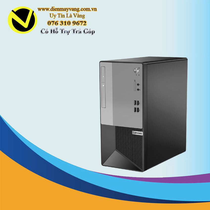 LENOVO V50t-13IMB i3-10100 (4*3.6)/4GD4/256SSD/DVDRW/WLac/BT4/KB/M/ĐEN/W10SL/1Y_Onsite