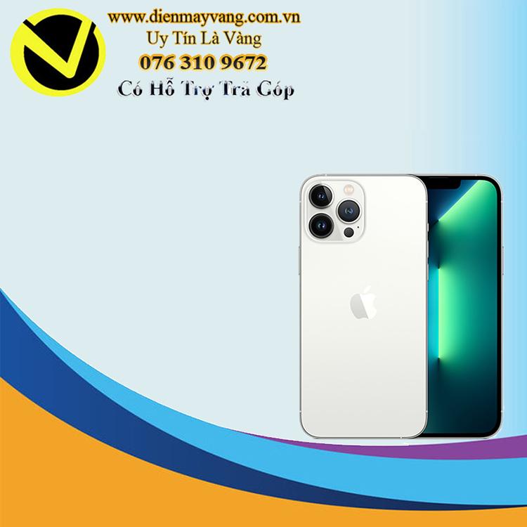 Điện thoại thông minh Iphone 13 Pro Max 128GB Silver Chính hãng
