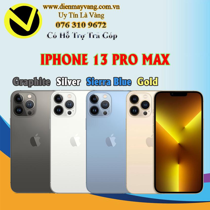 Điện thoại thông minh Iphone 13 Pro Max 256GB Chính hãng