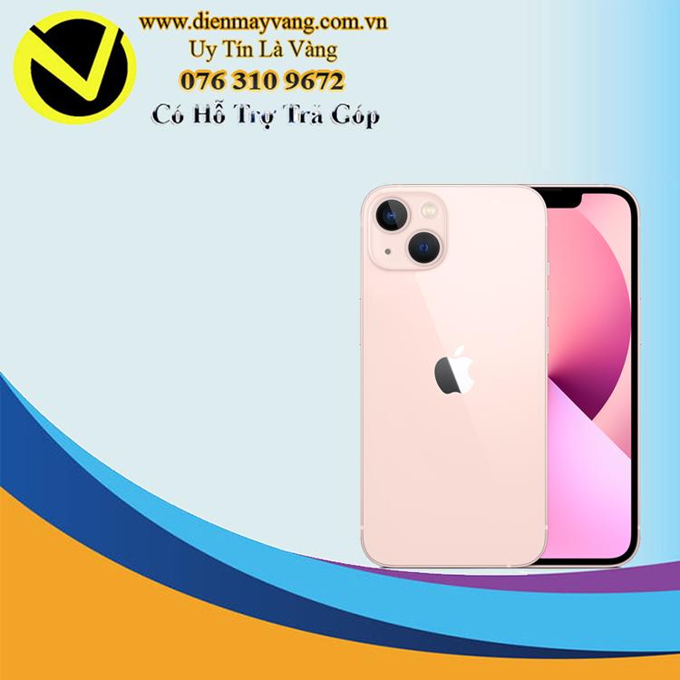 Điện thoại thông minh iPhone 13 128GB (VN) Pink (kèm Leather Magsafe) Chính hãng