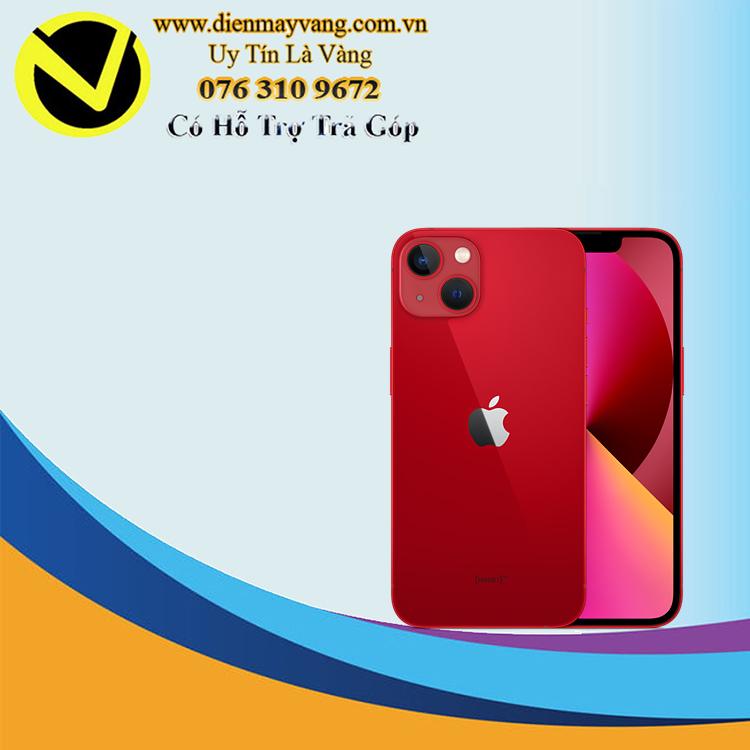 Điện thoại thông minh iPhone 13 128GB (VN) Red (kèm Leather Magsafe) Chính hãng