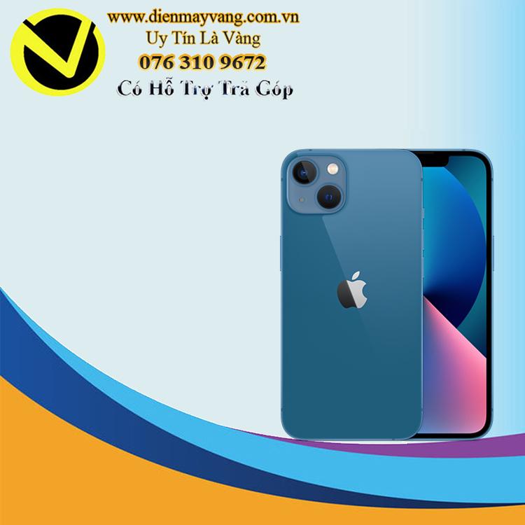 Điện thoại thông minh iPhone 13 128GB (VN) Sierra Blue (kèm Leather Magsafe) Chính hãng