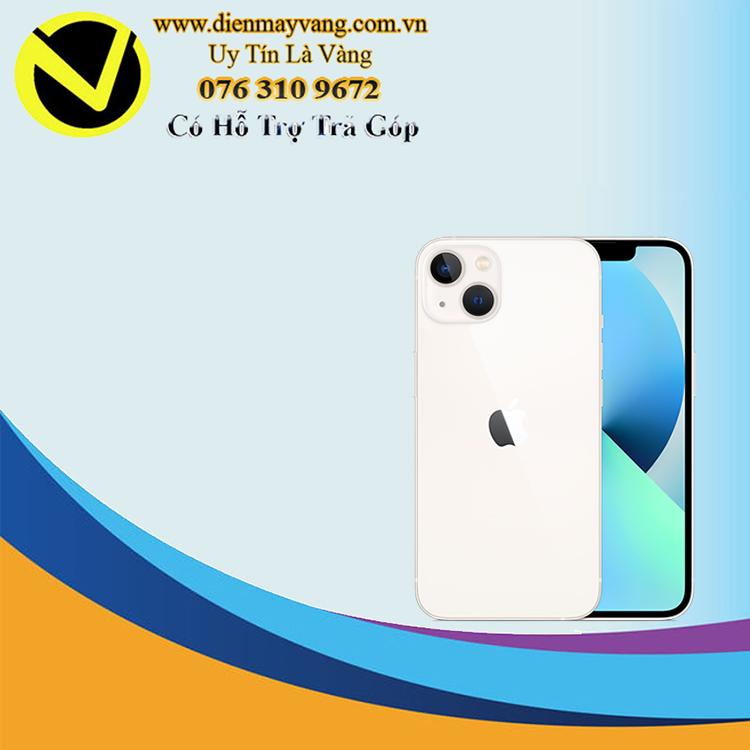 Điện thoại thông minh iPhone 13 256GB (VN) Starlight (kèm Leather Magsafe) Chính hãng