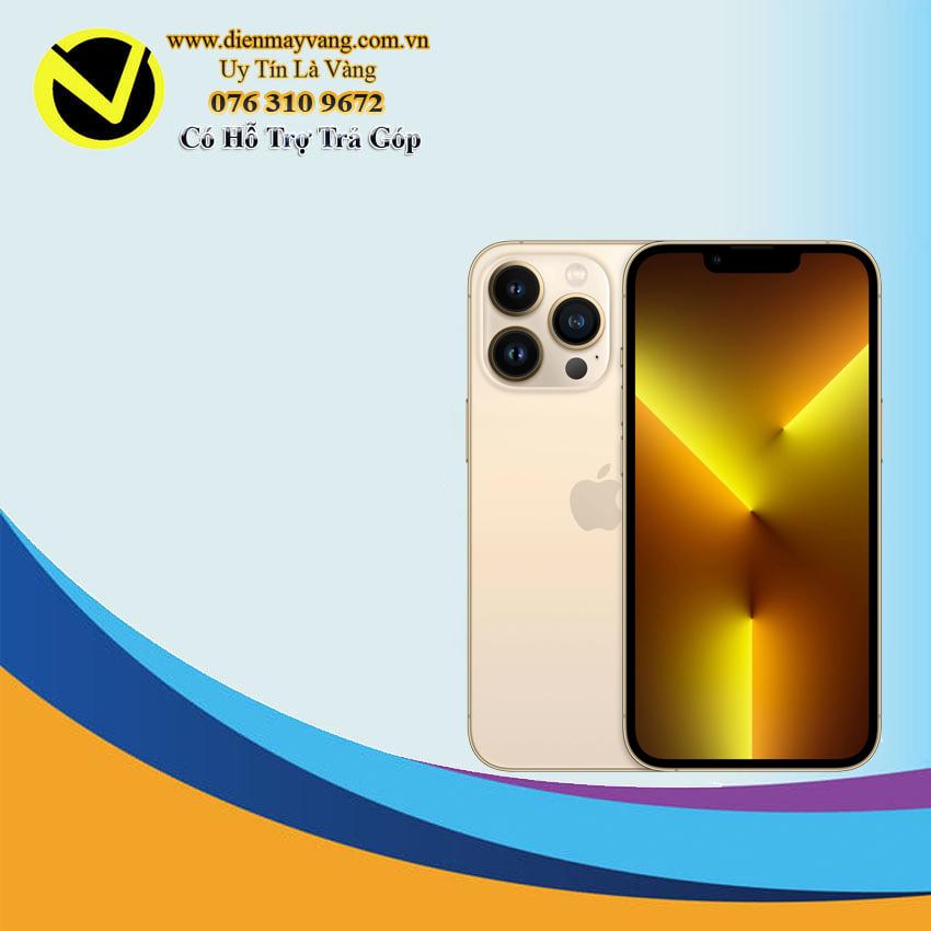 Điện thoại thông minh IPhone 13 Pro 256GB (VN) Gold ( kèm có Ốp  Silicon Magsafe )