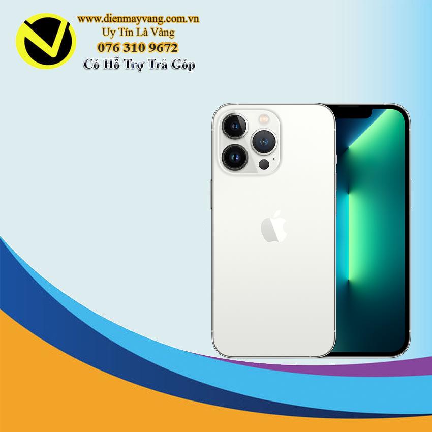 Điện thoại thông minh IPhone 13 Pro 128GB (VN) Silver ( Kèm Ốp  Silicon Magsafe )